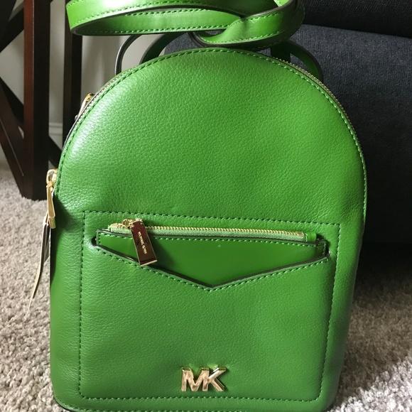 32104845efb1fc Michael Kors Bags | Jessa Small Convertible Backpack | Poshmark